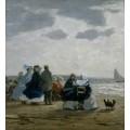 Пляж в Дьепе - Буден, Эжен