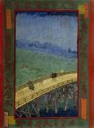 Мост во время дождя - Гог, Винсент ван