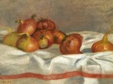 Натюрморт с луком, 1912 - Ренуар, Пьер Огюст