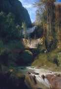 Водопад в Амальфи - Блехен, Карл