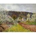 Дождливая весна близ Парижа - Сислей, Альфред