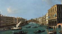 Большой канал - Каналетто (Джованни Антонио Каналь)