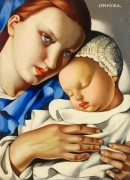 Мать с ребенком - Лемпицка, Тамара