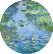 Кувшинки в саду художника в Живерни - Моне, Клод