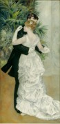 Танцы в городе - Ренуар, Пьер Огюст
