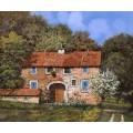 Дачный дом весной - Борелли, Гвидо (20 век)