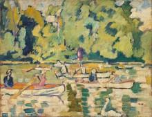 Лодки в Булонском лесу - Вальта, Луи