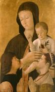 Мадонна с Младенцем и донаторами - Беллини, Джентиле