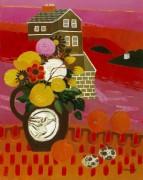 Цветы в пейзаже - Федден, Мари