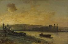 Река - Йонгкинд, Ян Бартолд