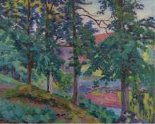 Пейзаж Крез,  1910 - Гийомен, Арманд
