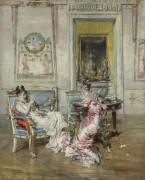 Дамы Первой Империи, 1875 - Болдини, Джованни