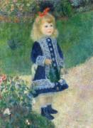 Девочка с лейкой - Ренуар, Пьер Огюст