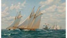 Сапфо обходит Ливонию, кубок Америки 1871 - Блейк, Энтони