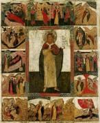 Св.пророк Илия с житием (ок.1680)