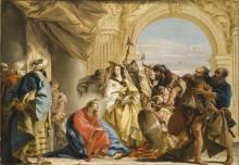 Христос и грешница - Тьеполо, Джованни Баттиста