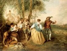 Пастушки - Ватто, Жан Антуан