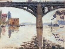 Мост Рутье в Аржантее - Моне, Клод