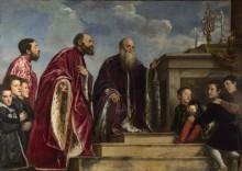 Портрет семьи Вендрамин - Тициан Вечеллио