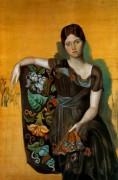 Портрет Ольги в кресле, 1917 - Пикассо, Пабло