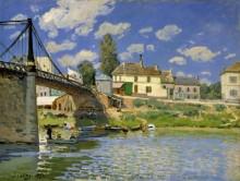 Мост в Вильнёв-Ла-Гаренн - Сислей, Альфред