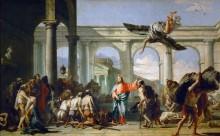 Исцеление расслабленного при Овчей купели - Тьеполо, Джованни Баттиста