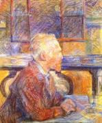 Портрет Винсента Ван Гога. 1887 - Тулуз-Лотрек, Анри де