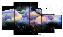 Абстракция космические облака