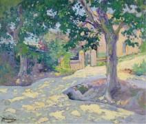 Улица с деревьями - Мадлин, Поль
