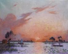 Закат в Брие, 1925 -  Пюигадо, Фердинанд дю