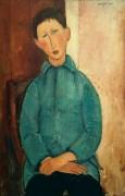 Мальчик в голубом жакете - Модильяни, Амадео