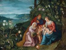 Святое Семейство со святой Елизаветой - Брейгель, Ян (младший)