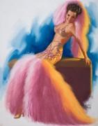 Платье с боа - Моран, Эрл