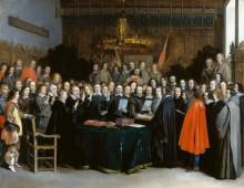 Ратификация договора в Мюнстере - Терборх, Герард