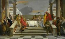 Пир Клеопатры - Тьеполо, Джованни Баттиста