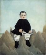 Мальчик на скалах - Руссо, Анри