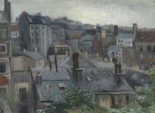 Вид из студии Винсента (View from Vincent's Studio), 1886 - Гог, Винсент ван