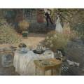 Обед, 1873 - Моне, Клод