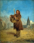 Савояр с сурком - Ватто, Жан Антуан