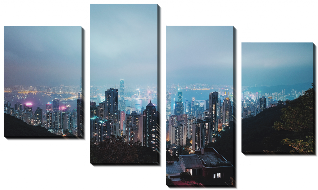 Вид на ночной город_2
