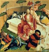 Вурцахский алтарь - Воскресение Хиста - Мульчер, Ханс