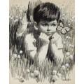 Мальчик в траве - Сарноф, Артур