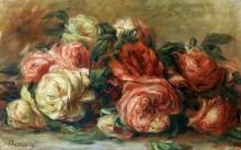 Розы - Ренуар, Пьер Огюст