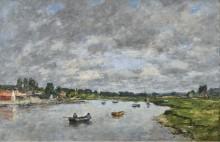 В Трувиле, 1871 - Буден, Эжен