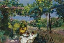 Сиеста в саду, 1904 - Бастида, Хоакин Соролла