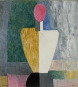 Торс (Фигура с розовым лицом) - Малевич, Казимир