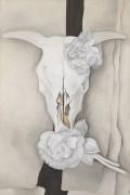 Коровий череп с розой - О'Кифф, Джорджия