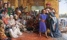 Нахождение Спасителя в храме - Хант, Уильям Холман