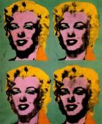 Четыре Мэрилин  (Quatre Marilyns),  1962 - Уорхол, Энди