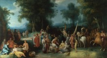 Проповедь святого Иоанна Крестителя - Харлем, Корнелис ван